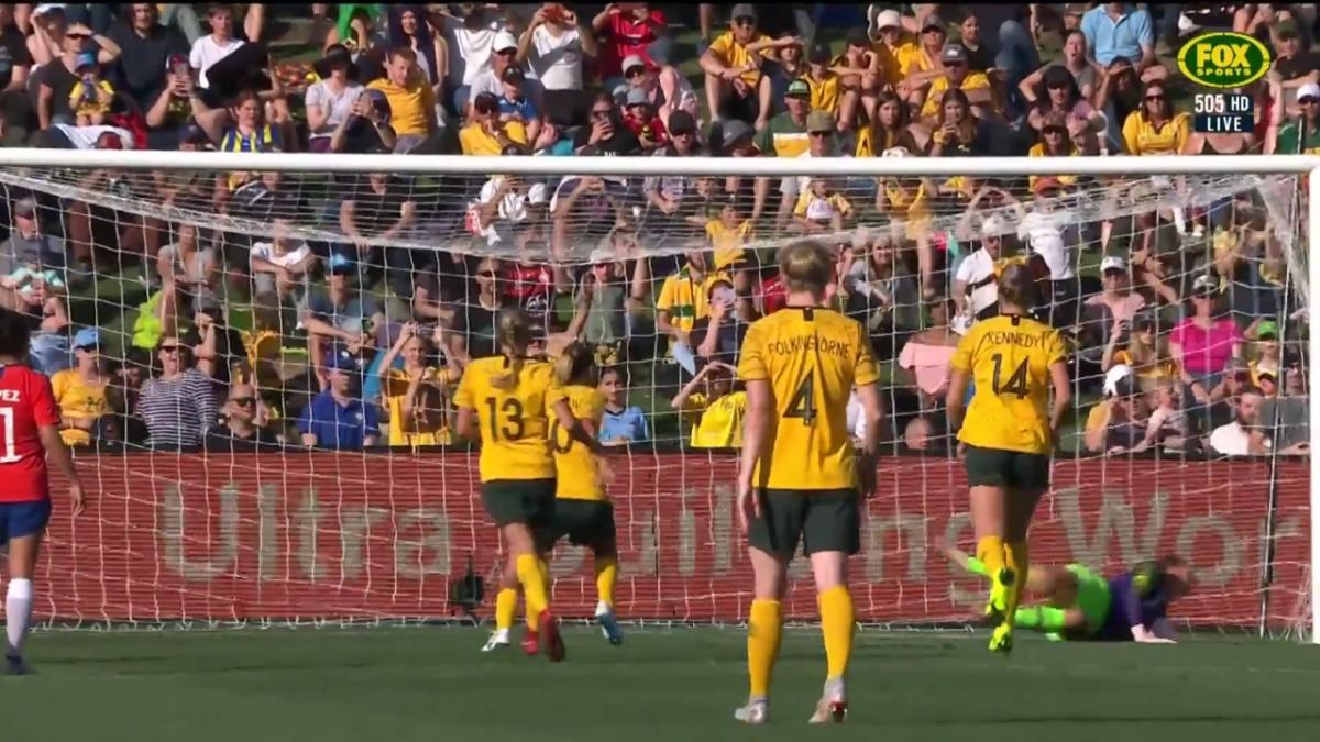 Westfield Matildas pull one back just before full-time