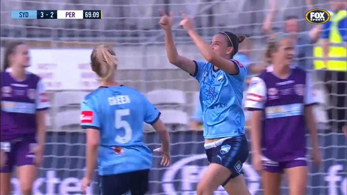 Top Matildas in the Westfield W-League: Chloe Logarzo - Sydney FC