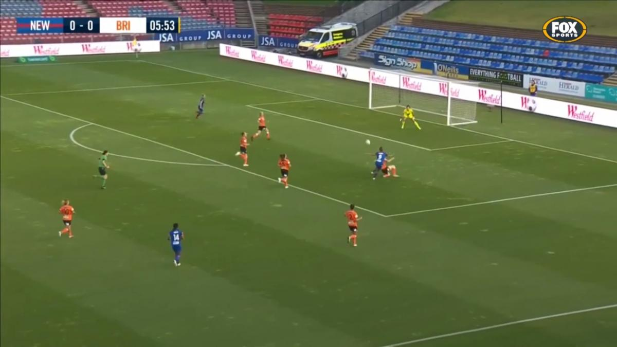 Top Matildas in the Westfield W-League: Clare Polkinghorne - Brisbane Roar