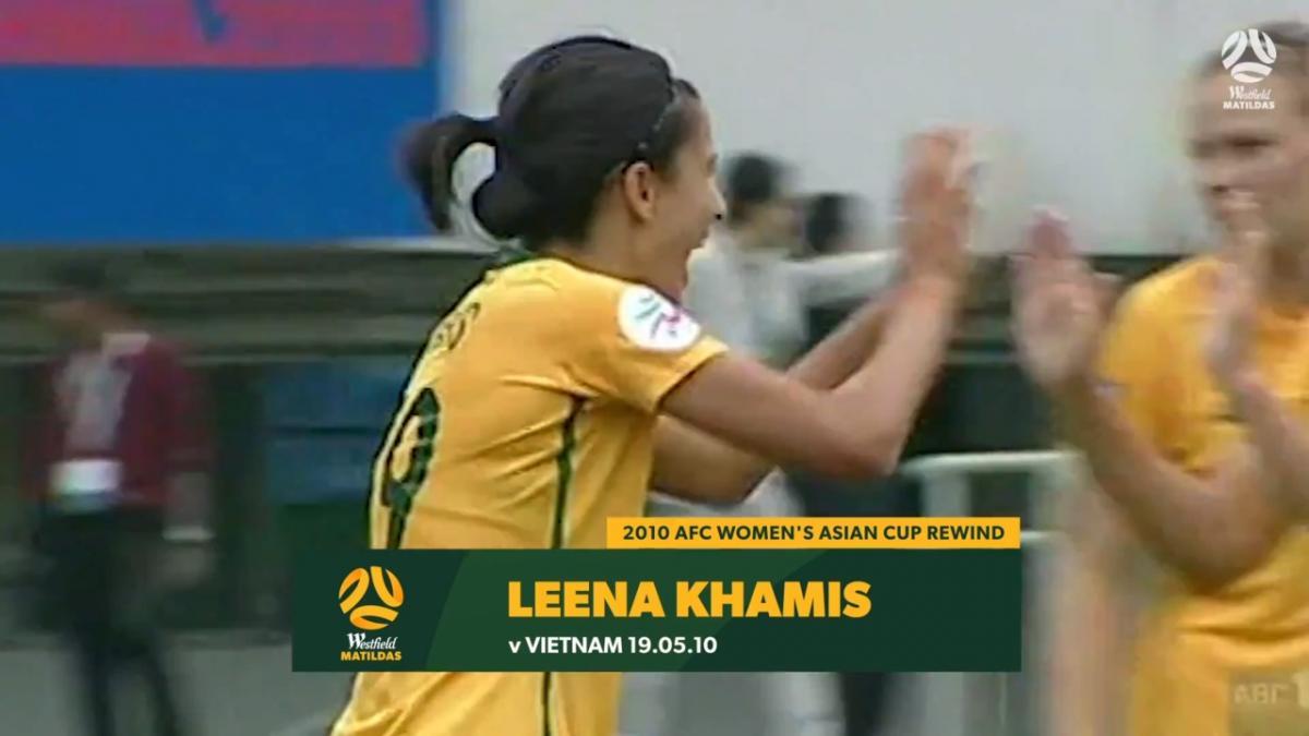 2010 Asian Cup - Leena Khamis goal against Vietnam