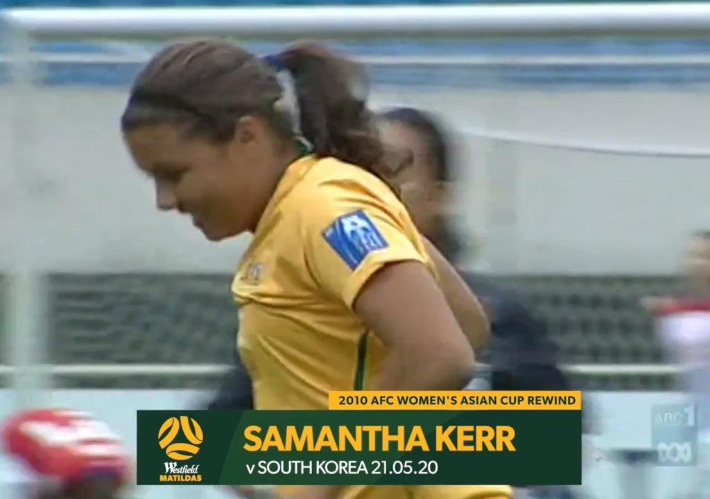 2010 Asian Cup AUS v KOR - Sam Kerr Goal