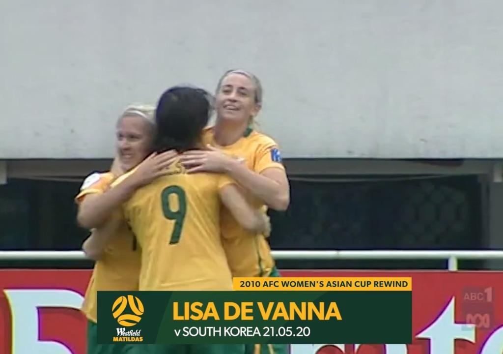 2010 Asian Cup AUS v KOR - Lisa De Vanna Goal