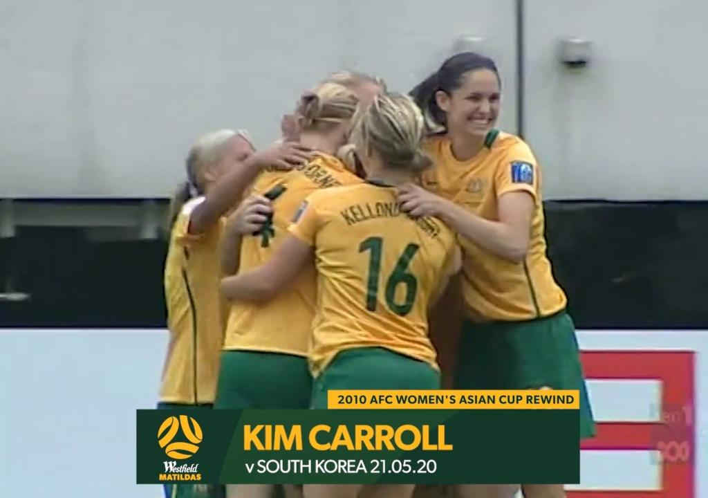 2010 Asian Cup AUS v KOR - Kim Carroll Goal
