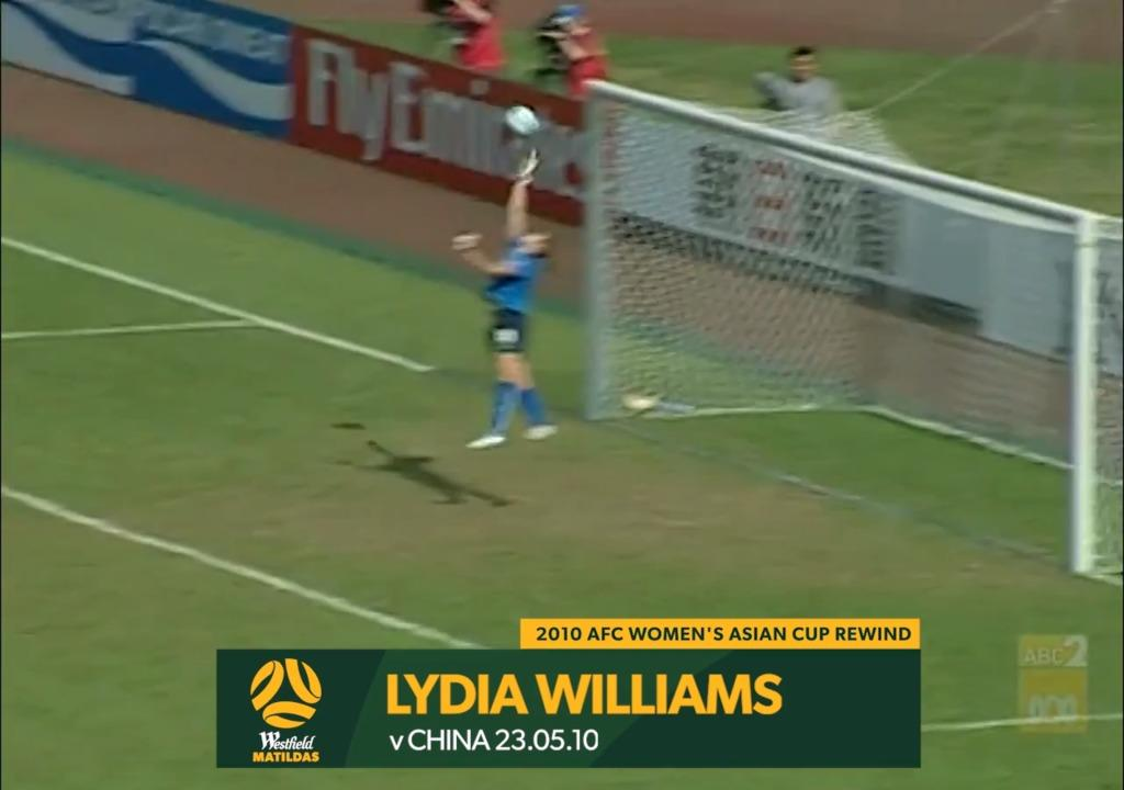 2010 Asian Cup AUS v CHN - Lydia Williams Saves again