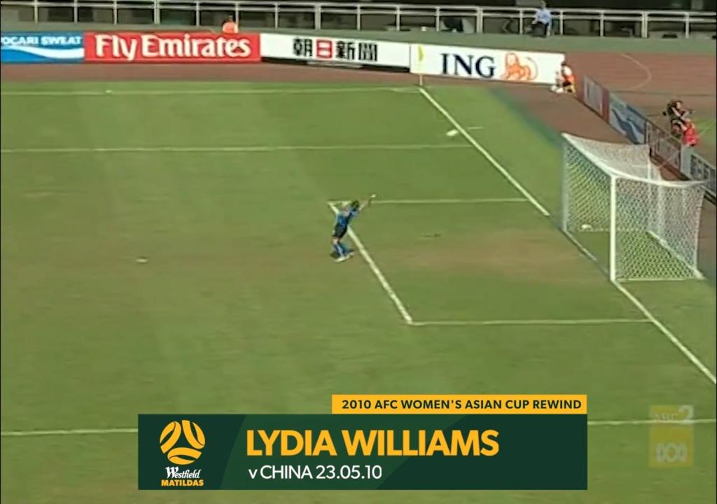 2010 Asian Cup AUS v CHN - Lydia Williams Saves