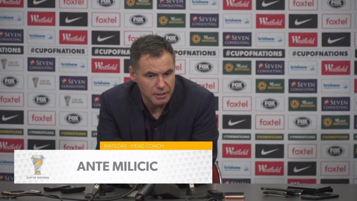 Press Conference: Ante Milicic - Matildas