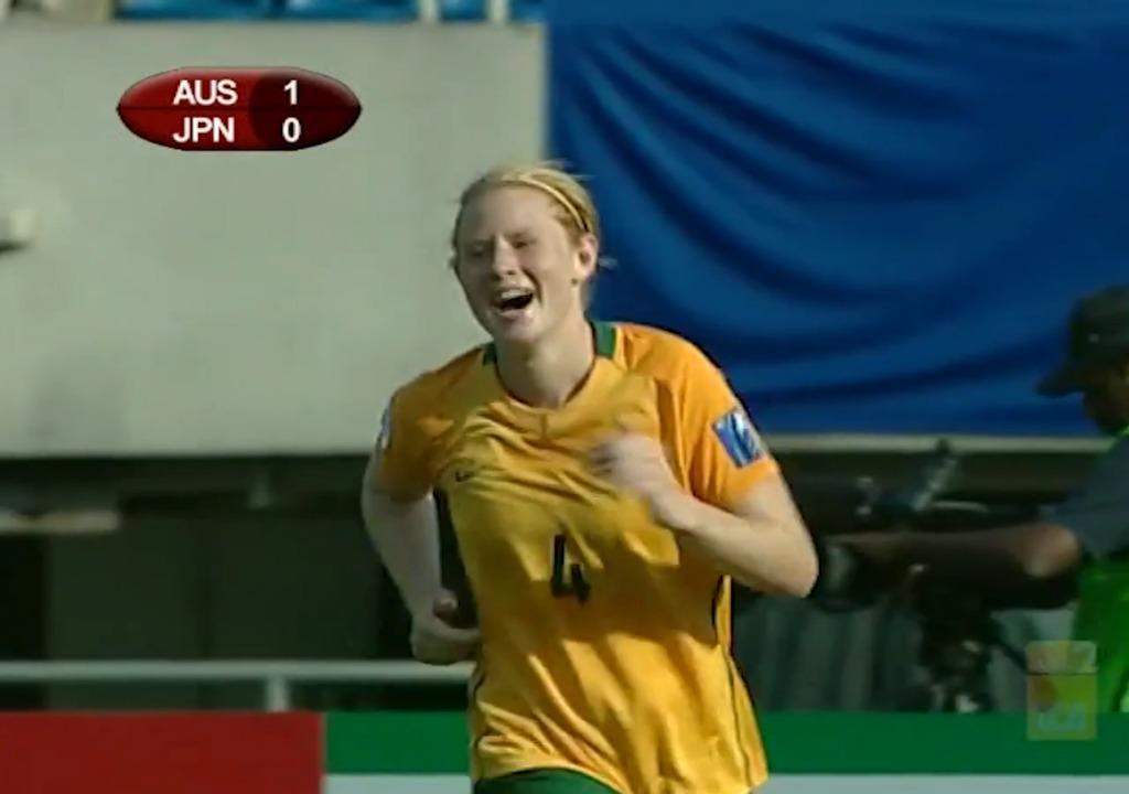 2010 Asian Cup AUS v JPN - Kerr and Polkinghorne combine