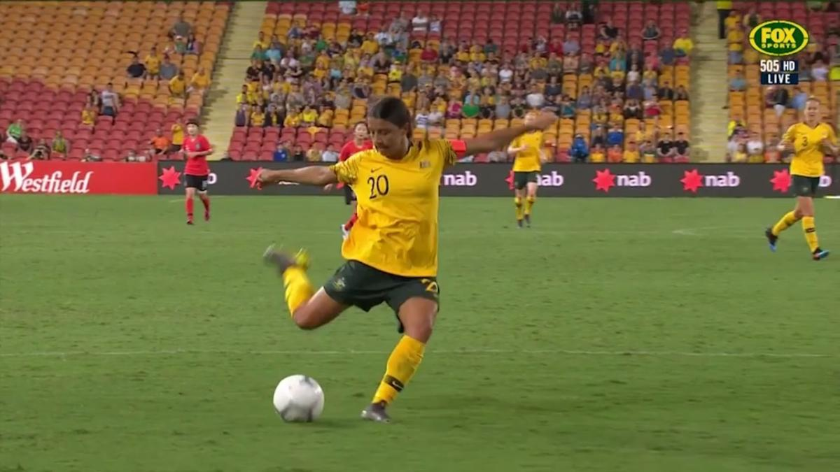 Full-time highlights: Westfield Matildas v Korea Republic