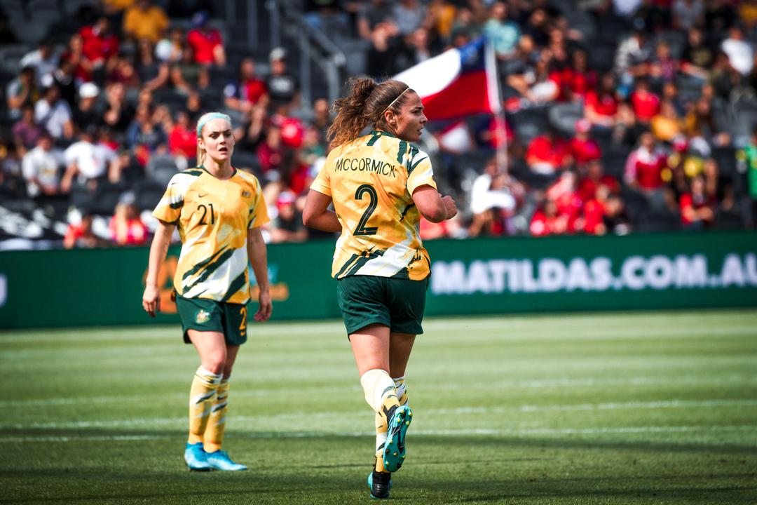Westfield Matildas Zoom Sessions - Jenna McCormick