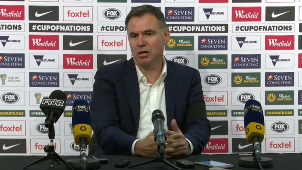Press Conference: Ante Milicic - Matildas