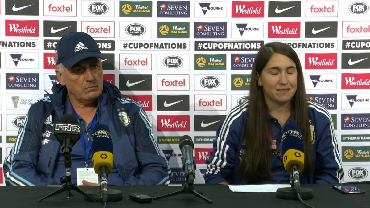 Press Conference: Carlos Borrello – Argentina