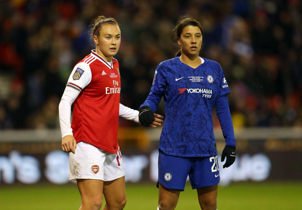 Foord and Kerr in Conti Cup Final
