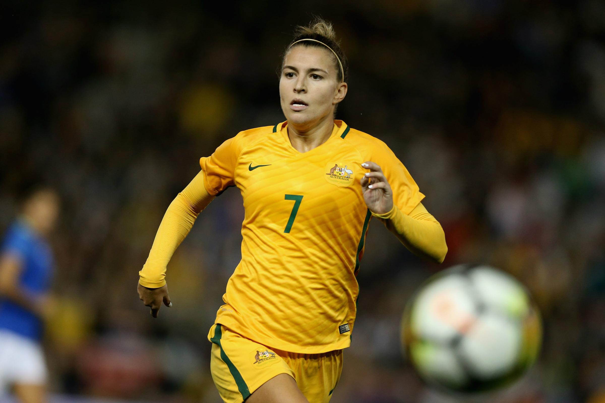 Westfield Matildas star Steph Catley has been nominated for the best defender award.