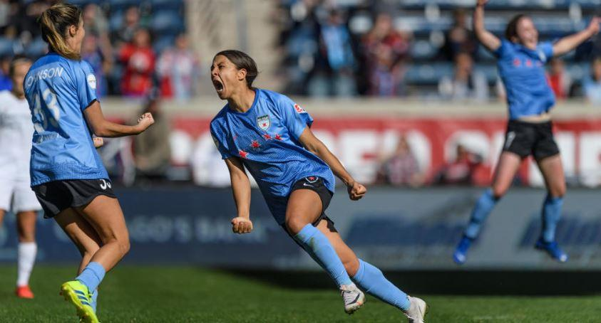 Sam Kerr - image courtesy of NWSL official website