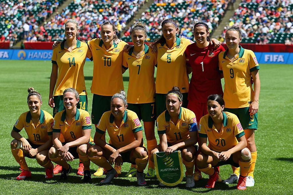 Australia Matildas Women's World Cup 2015 squad vs Japan