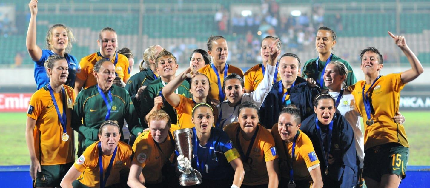 2010 Asian Cup win