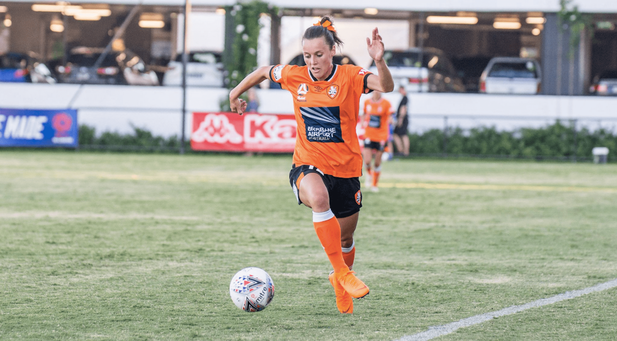Westfield Matildas star Hayley Raso makes incredible Westfield W-League return