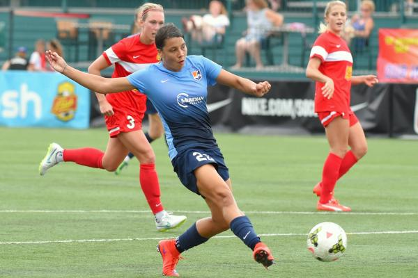 Sam Kerr enjoyed a record-breaking year with Sky Blue FC in the NWSL.