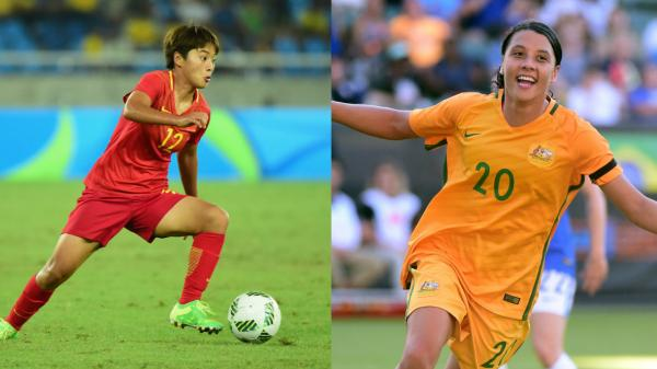 'Lady Messi' versus Sam Kerr: striker showdown this week