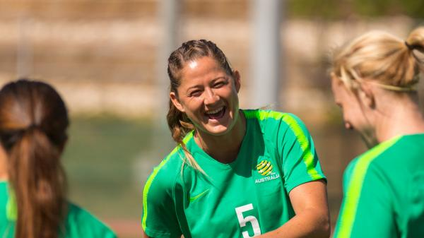 Alleway 'buzzing' as Westfield Matildas begin preparations for Cup of Nations