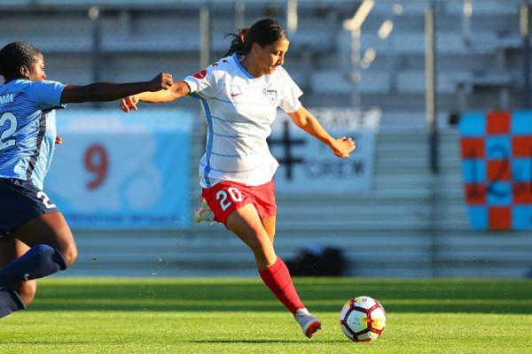 NWSL wrap: Kerr makes more history on Sky Blue return