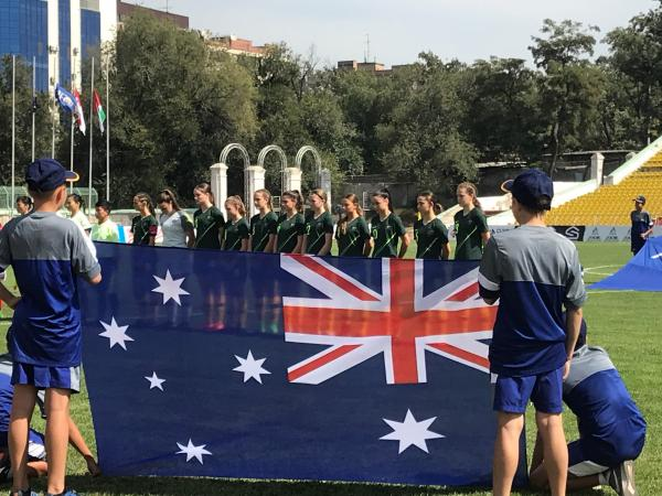 WATCH LIVE: Junior Matildas v Indonesia