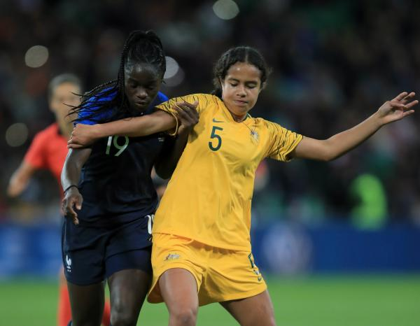A FIFA Women's World Cup wildcard? Teenage striker impresses for Westfield Matildas against France