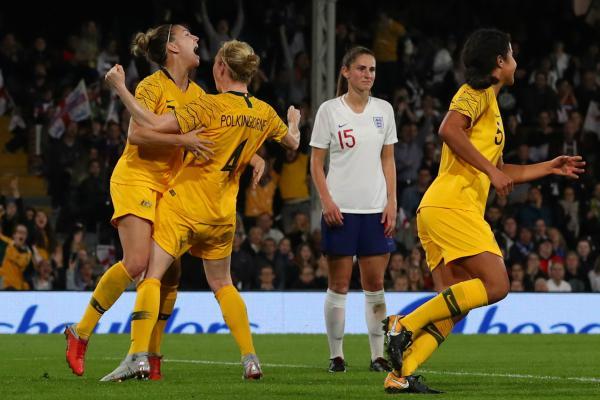 Clare Polkinghorne goal