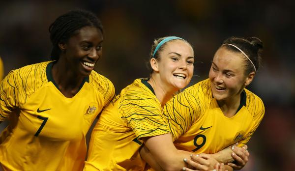 'She could be one of the best players in the world': Stajcic's huge praise for hat-trick hero Foord