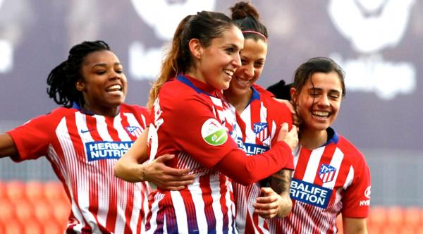 Chidiac and Atletico Madrid on the cusp of third straight Liga Femenina title