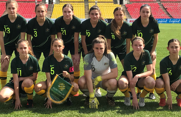 Westfield Junior Matildas to tour Pacific in 2019