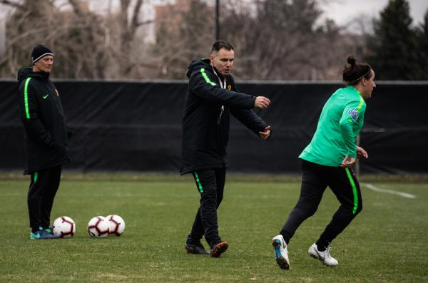 GALLERY: Westfield Matildas put through their paces in Denver, Colorado.
