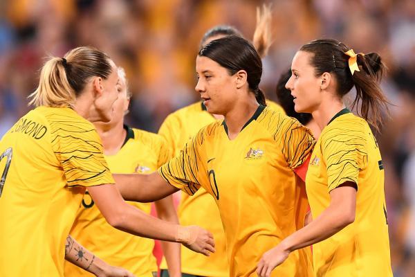 Kerr double leads Westfield Matildas in convincing win over Korea Republic