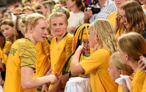 Job has only just begun for Polkinghorne and Westfield Matildas