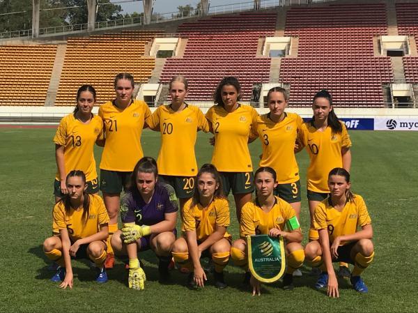 Westfield Junior Matildas earn victory in Vientiane