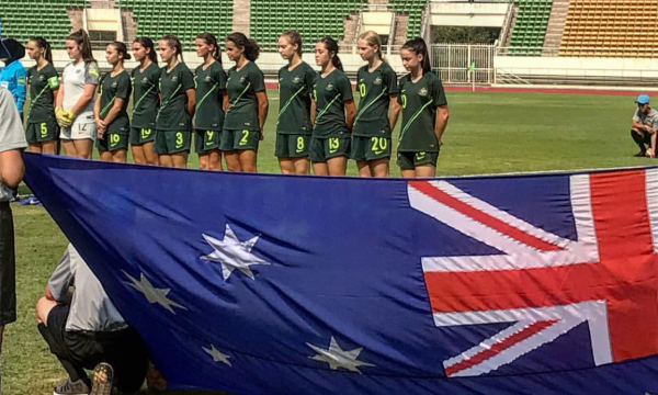 LIVE STREAM: Westfield Junior Matildas vs Laos