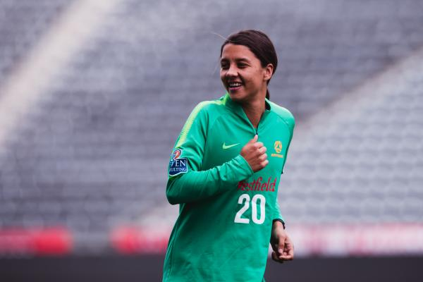 Friendships on hold for Sam Kerr during USA clash