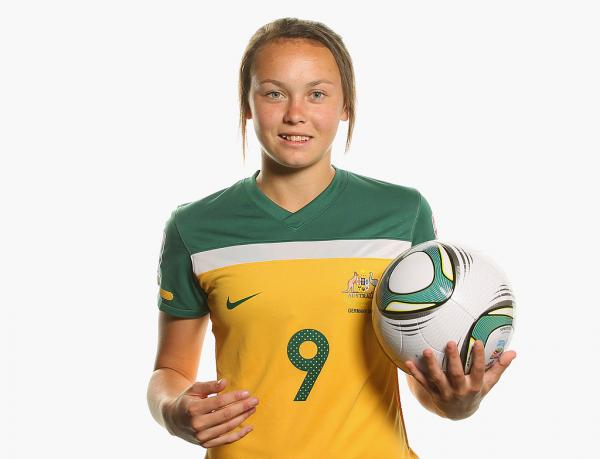 Caitlin Foord is Australia's youngest FIFA Women's World Cup player