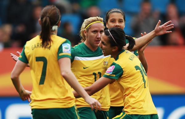 Lisa de Vanna scores Australia's 21st FIFA Women's World Cup goal