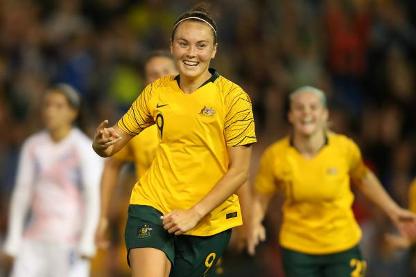 Caitlin Foord's goal-scoring ability could be crucial in France