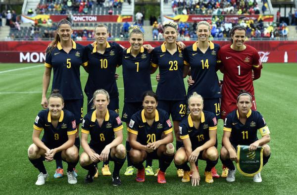 Westfield Matildas v Brazil (2015)
