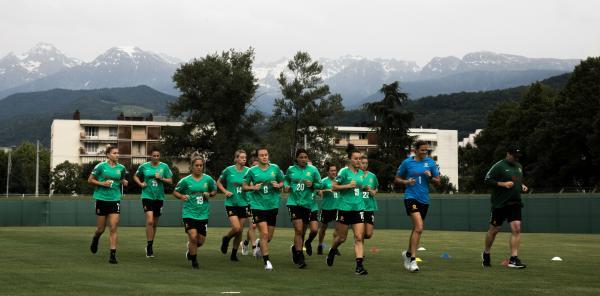 Matildas Grenoble training