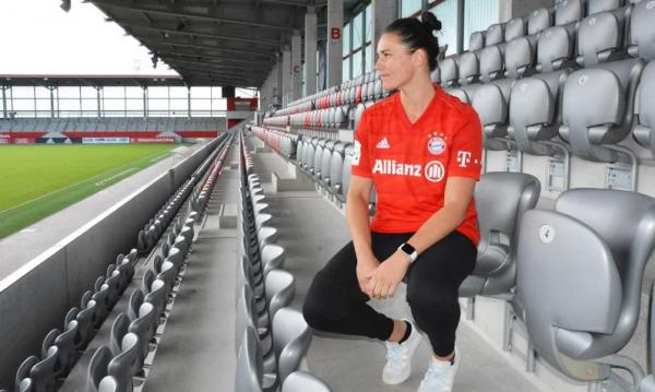 Emily Gielnik wants to win the Bundesliga and Champions League with Bayern Munich
