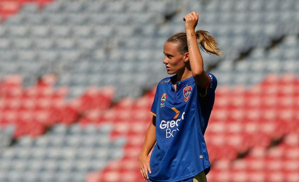 Emily van Egmond will not be returning to Newcastle Jets