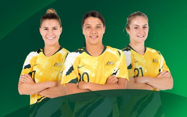 Matildas v Chile Web Image