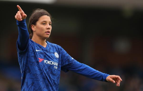 Sam Kerr on her Chelsea debut