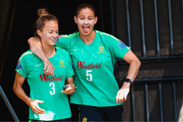 Westfield Matildas training in Sydney