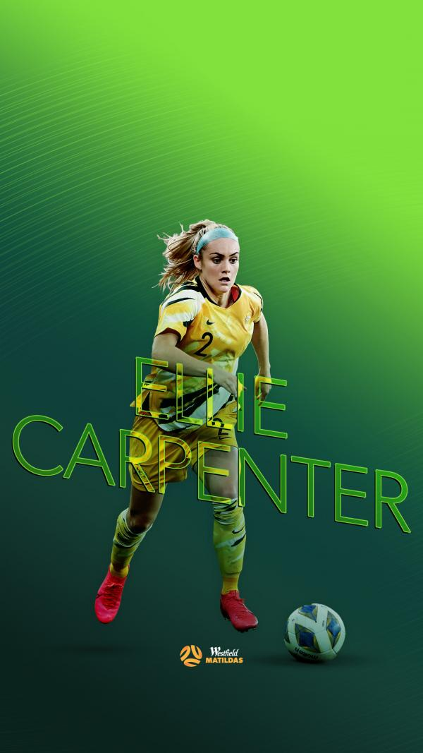 Ellie Carpenter mobile wallpaper