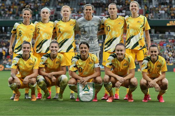 Westfield Matildas v China at Bankwest