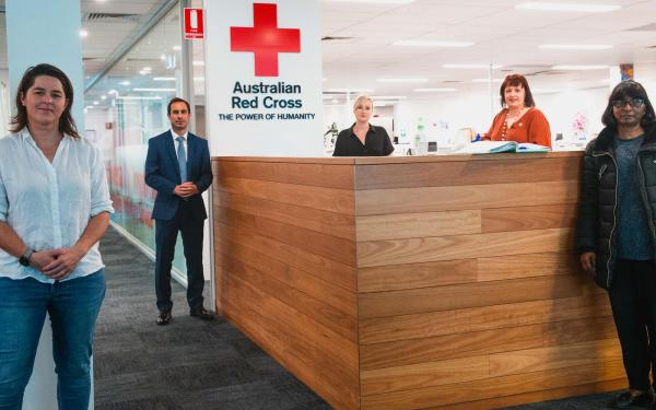 FFA x Red Cross launch